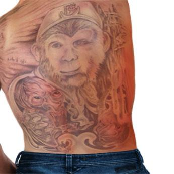 Monkey-King-Tatoo