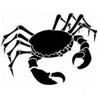 Cancer crab silhouette
