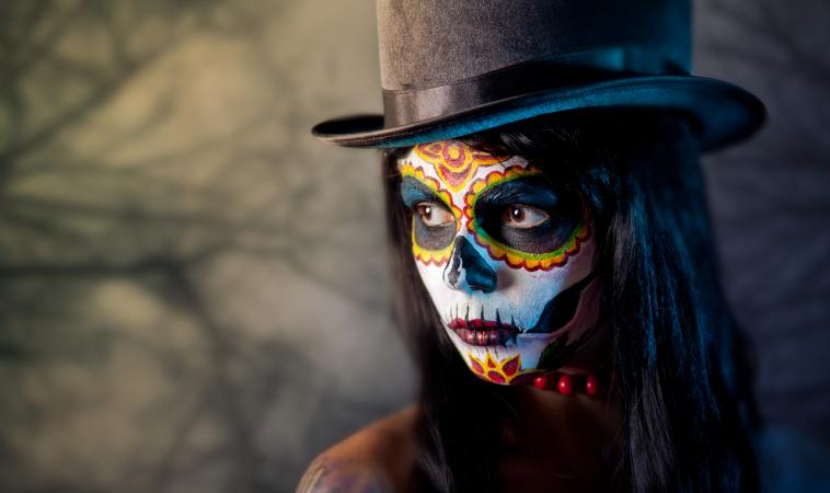 Day Of The Dead Tattoo Meaning And History Lovetoknow