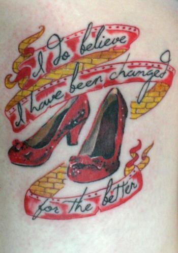 I do believe I am changed tattoo