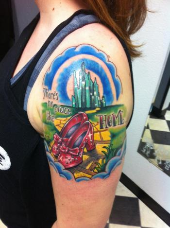 There's no place like home tattoo