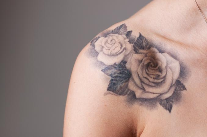 Tattoo of roses