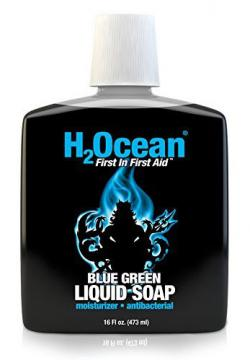 H2Ocean Blue Green Liquid Soap