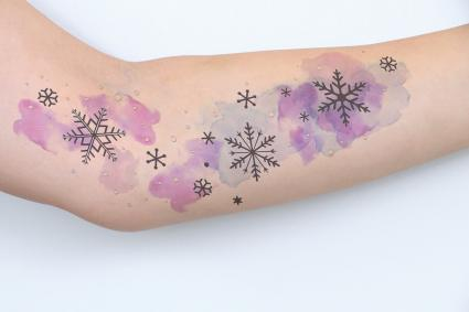 Snowflake Tattoo Ideas That Wont Leave You Cold Lovetoknow