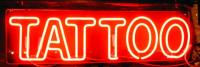 Tattoo shop sign
