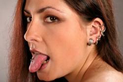 lots of piercings
