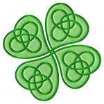 Celtic lucky clover