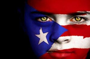 Puerto Rico face paint