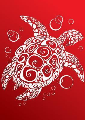 red turtle design