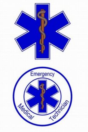 The Star of Life symbolizes emergency care.