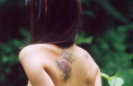 Tatuaje de dos rosas