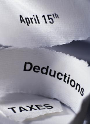 Deductions, Taxes and Tax Day