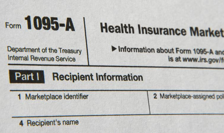 IRS Form 1095-A Relating to Health Insurance