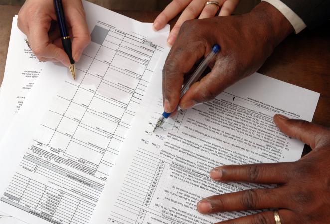 doing taxes