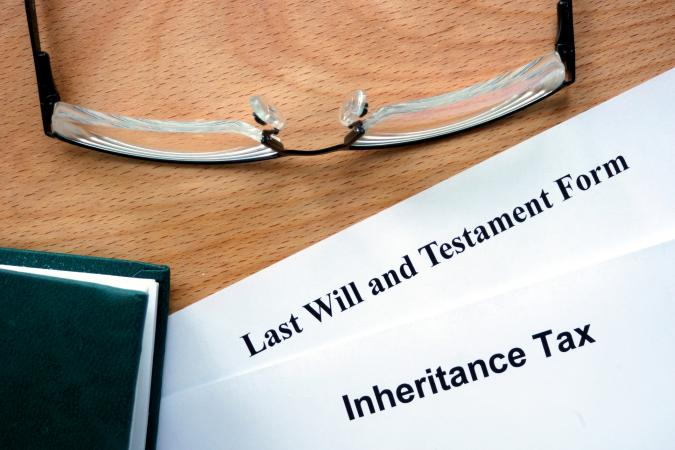 will and inheritance tax form