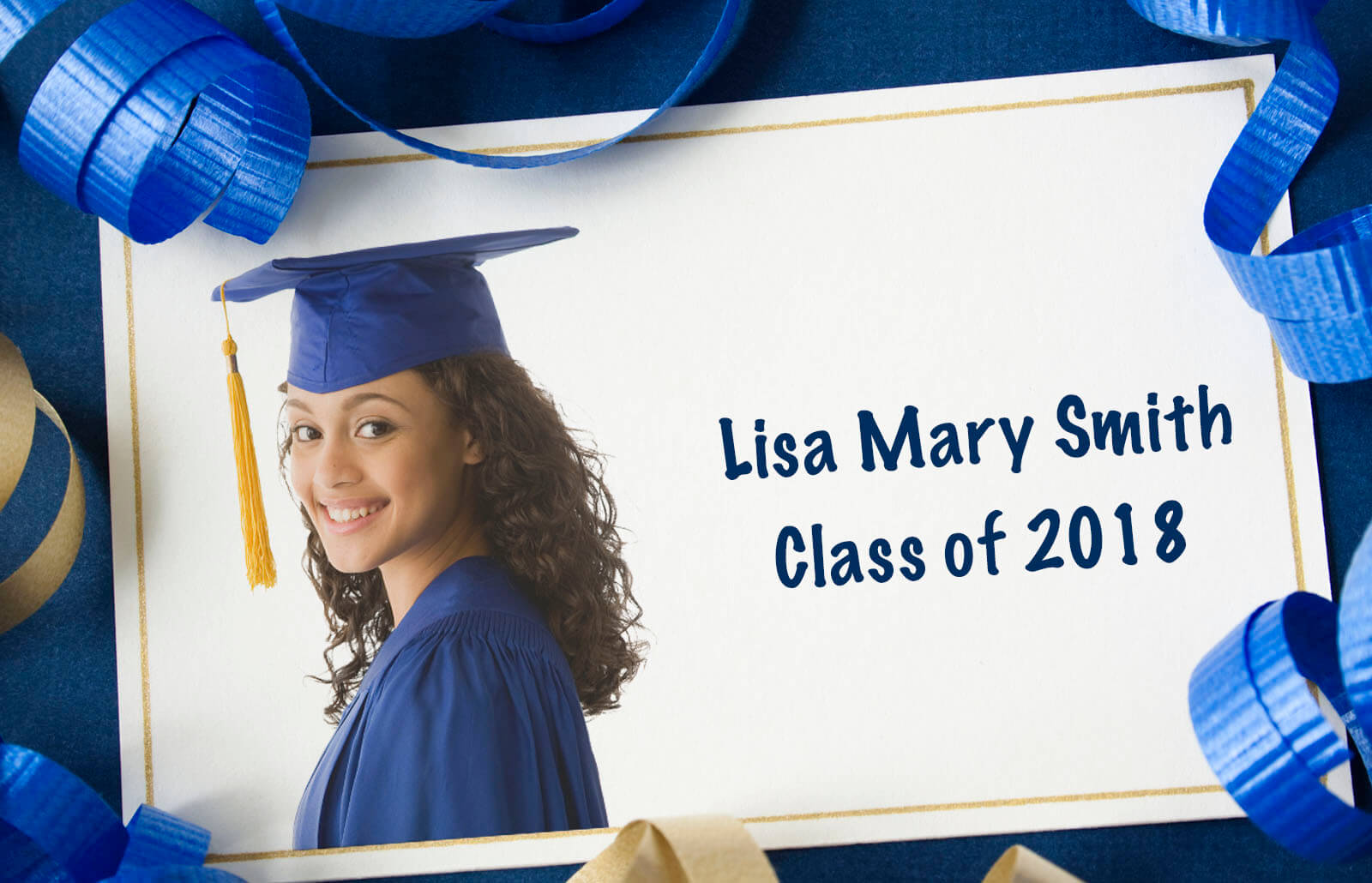 This is a graphic of Adaptable Free Printable Graduation Name Cards