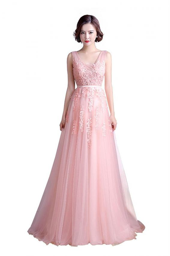 Pink Formal Gowns