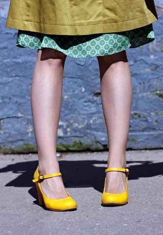 Yellow Mary Jane
