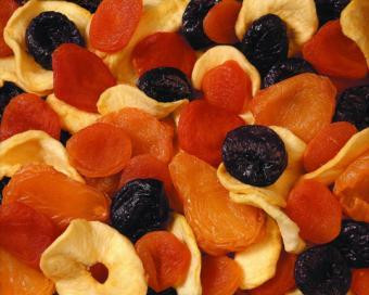 Dried fruit snack; copyright Kalenski at Dreamstime.com