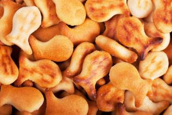 Goldfish crackers; copyright Artem Gorohov at Dreamstime.com