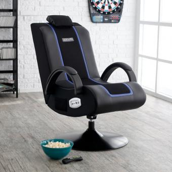 Zeus Thunder Echo Video Game Chair from Hayneedle.com
