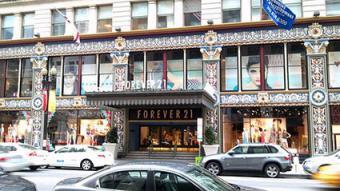 Forever 21 storefront in Washington D.C.