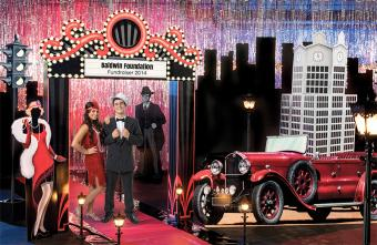 1920s Chicago prom theme kit