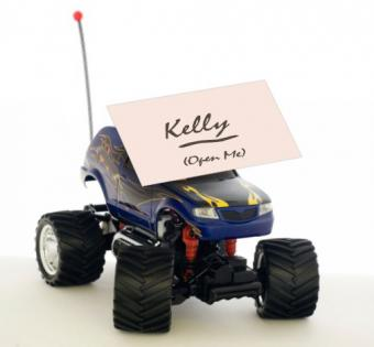 Remote Control Car with Card