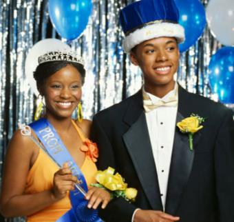 Prom King & Queen