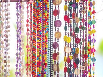 Bracelets For Sale At Market Stall