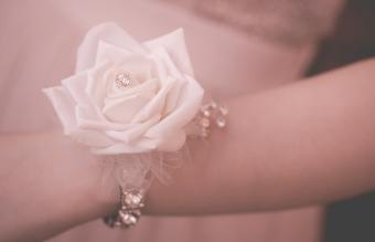 Corsage with Extra Bling