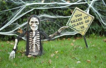 Scary Skeleton Halloween