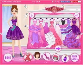 Screenshot of Fashionista Teen Queen
