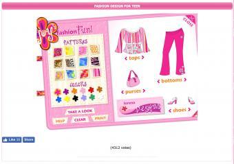 Screenshot of Fashion Design for Teens
