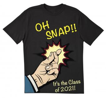 Oh Snap! senior class t-shirt