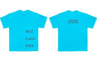 Best class ever senior t-shirt