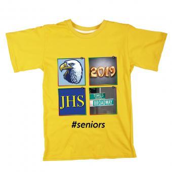 Senior year photo t-shirt
