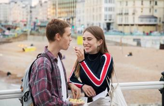 Teenager gives chip to boyfriend