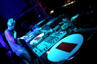 DJ Playing Record
