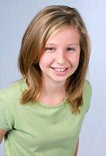 teen girl going through puberty