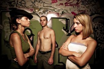 Teens in conflict.