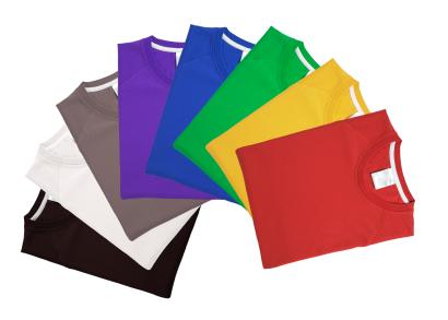t-shirts in assorted colors