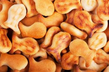 Goldfish crackers; copyright Artem Gorohov at Dreamstime.com