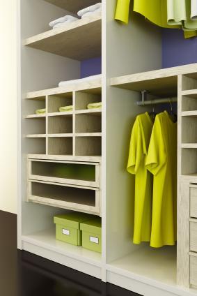 Teenage closet