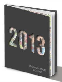 Cutout yearbook cover