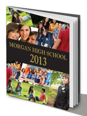 Yearbook cover sample