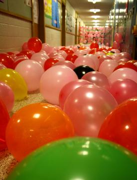 Balloon Senior Prank Work