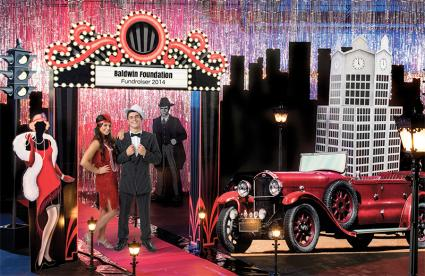 1920s Chicago prom theme kit