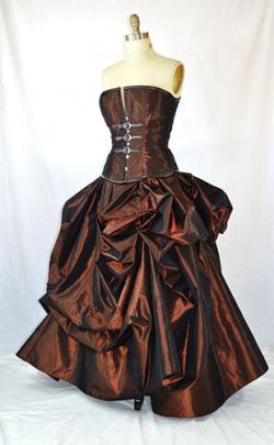Steam Punk Ball Gown