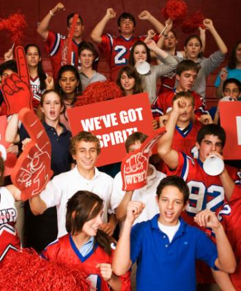 """school spirit Team spirit gear """" (1108 total) show your spirit with fan gear in your school  colors create custom shirts and team apparel with your logo and find  noisemakers,."""